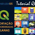 QGIS 3.10: Importação de uma Lista de Coordenadas Planas
